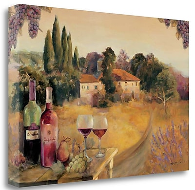 Tangletown Fine Art 'Spoleto Afternoon' by Marilyn Hageman Painting Print on Wrapped Canvas