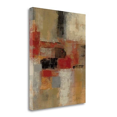 Tangletown Fine Art 'Intersection Crop II' by Silvia Vassileva Painting Print on Wrapped Canvas