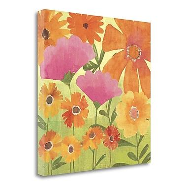 Tangletown Fine Art 'Spring Fling I' Print on Canvas; 18'' H x 18'' W