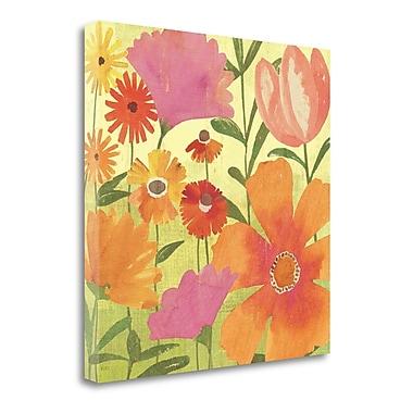 Tangletown Fine Art 'Spring Fling II' Print on Canvas; 35'' H x 35'' W