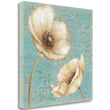 Tangletown Fine Art 'Sweet Summer I' by Daphne Brissonnet Painting Print on Wrapped Canvas