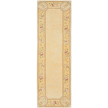 August Grove Labastide Hand Tufted Light Gold Area Rug