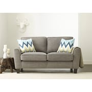 Serta at Home Astoria Loveseat; Light Gray