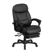 Red Barrel Studio Quinlynn Executive Reclining Swivel High-Back Leather Desk Chair