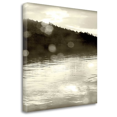 Tangletown Fine Art 'Twilight Dock I' Photographic Print on Wrapped Canvas; 20'' H x 20'' W