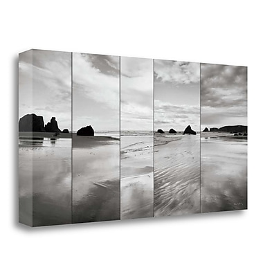 Tangletown Fine Art 'Tides on Bandon Beach' by Alan Majchrowicz Photographic Print on Wrapped Canvas