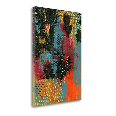 Tangletown Fine Art Hot Lava' Graphic Art Print on Canvas; 29'' H x 21'' W