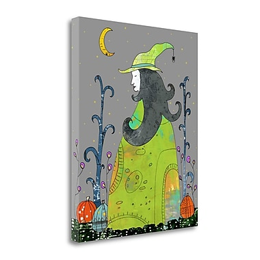 Tangletown Fine Art Witch; 26'' H x 21'' W