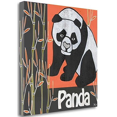 Tangletown Fine Art Panda II' Graphic Art Print on Canvas; 20'' H x 20'' W