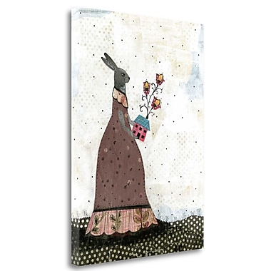 Tangletown Fine Art 'The Caretaker' Graphic Art Print on Wrapped Canvas; 29'' H x 21'' W