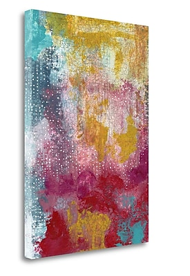 Tangletown Fine Art 'Sprinkles Abstract' Graphic Art Print on Canvas; 24'' H x 17'' W