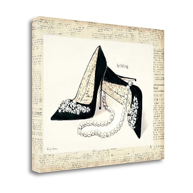 Tangletown Fine Art 'From Emilys Closet IV' by Emily Adams Graphic Art on Wrapped Canvas