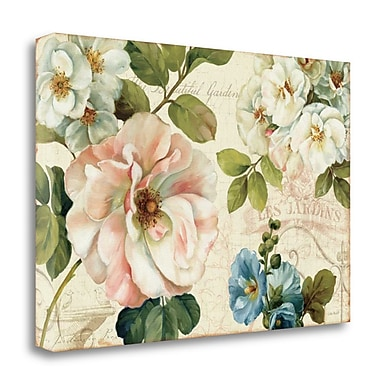 Tangletown Fine Art 'Les Jardin I' Print on Canvas; 23'' H x 34'' W