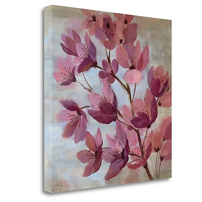 Tangletown Fine Art 'April Blooms I' Print on Wrapped Canvas; 35'' H x 35'' W