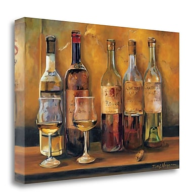 Tangletown Fine Art 'Cellar Whites' Print on Wrapped Canvas; 20'' H x 29'' W