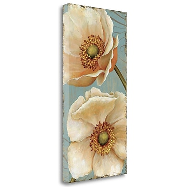 Tangletown Fine Art 'Windflower I' by Daphne Brissonnet Painting Print on Wrapped Canvas