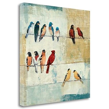 Tangletown Fine Art 'The Usual Suspects' Print on Canvas; 35'' H x 35'' W