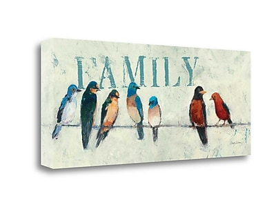 'The Usual Suspects Panel III - Family' by Avery Tillmon Painting Print on Wrapped Canvas