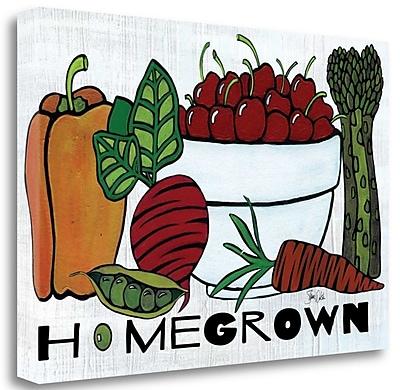 Tangletown Fine Art 'Homegrown' Graphic Art Print on Canvas; 20'' H x 29'' W