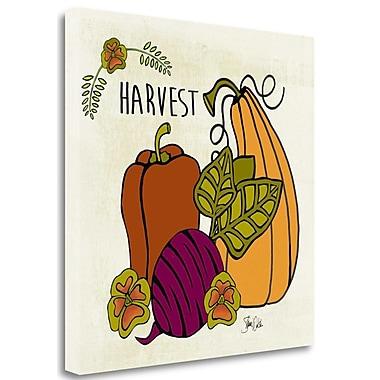 Tangletown Fine Art 'Harvest Vegetables' Graphic Art Print on Canvas; 18'' H x 18'' W