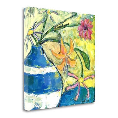 Tangletown Fine Art 'Uplifting' Print on Wrapped Canvas; 35'' H x 35'' W