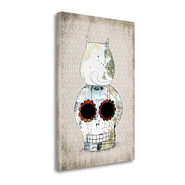 Tangletown Fine Art 'Two Sugars' Graphic Art Print on Canvas; 39'' H x 28'' W