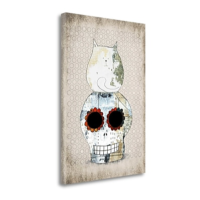 Tangletown Fine Art Two Sugars' Graphic Art Print on Canvas; 29'' H x 21'' W