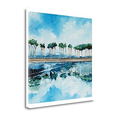 Tangletown Fine Art 'Trees II' Print on Wrapped Canvas; 28'' H x 28'' W