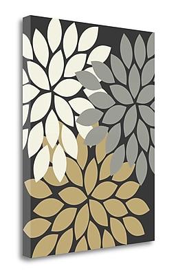 Tangletown Fine Art Trio Flower Burst II' Graphic Art Print on Canvas; 20'' H x 16'' W
