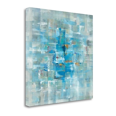 Tangletown Fine Art 'Abstract Squares' Print on Canvas; 20'' H x 20'' W
