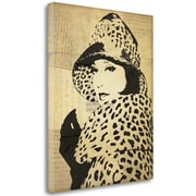 Tangletown Fine Art 'Fashion News II' by Wild Apple Portfolio Graphic Art on Wrapped Canvas