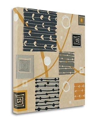 Tangletown Fine Art 'Graphic Tiles I' by Wild Apple Portfolio Graphic Art on Wrapped Canvas