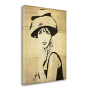 Tangletown Fine Art 'Fashion News I' by Wild Apple Portfolio Graphic Art on Wrapped Canvas