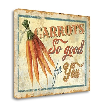 Tangletown Fine Art 'Fresh I' Vintage Advertisement on Wrapped Canvas; 18'' H x 23'' W