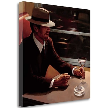 Tangletown Fine Art 'Dry Martini Crop I' Print on Wrapped Canvas; 35'' H x 35'' W