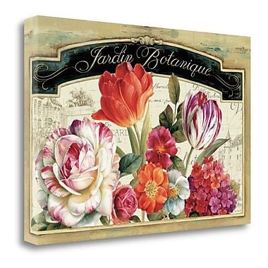 Tangletown Fine Art 'Garden View I' Graphic Art Print on Canvas; 20'' H x 29'' W