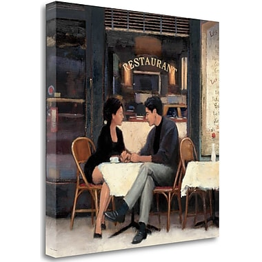 Tangletown Fine Art 'Rendezvous' Print on Wrapped Canvas; 30'' H x 30'' W