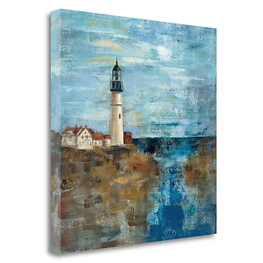 Tangletown Fine Art 'Lighthouse Dream' Print on Wrapped Canvas; 35'' H x 35'' W