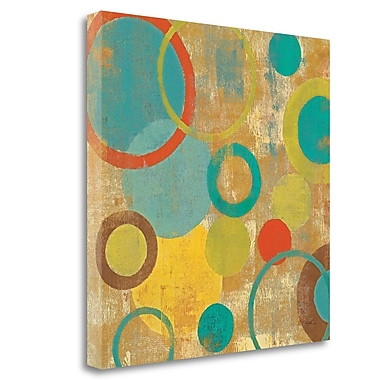Tangletown Fine Art 'Kaleidoscope II' Graphic Art on Wrapped Canvas; 25'' H x 25'' W