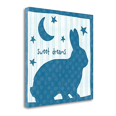 Tangletown Fine Art 'Le Lapin I' by Wild Apple Portfolio Graphic Art on Wrapped Canvas