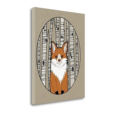 Tangletown Fine Art 'Forest Friends I' Graphic Art Print on Canvas; 27'' H x 21'' W