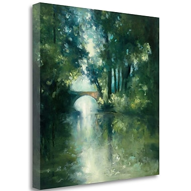 Tangletown Fine Art 'Peek a Boo' by Julia Purinton Painting Print on Wrapped Canvas; 20'' H x 20'' W