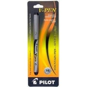 Pilot V-Pen Disposable Fountain Pen, Medium, Black