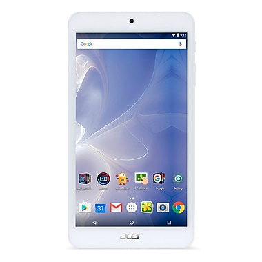 Acer - Tablette Iconia B1 B1-780-K9UP 7 po, 1,3 GHz MediaTek MT8163, 16 Go Flash, 1 Go DDR3L, Android 6.0, blanc