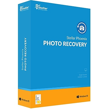 Stellar Phoenix Photo Recovery Windows for Windows (1 User) [Download]