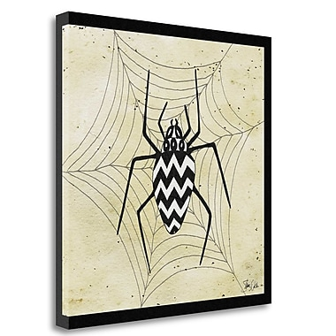 Tangletown Fine Art 'Spider Illustration II' Graphic Art Print on Canvas; 20'' H x 20'' W