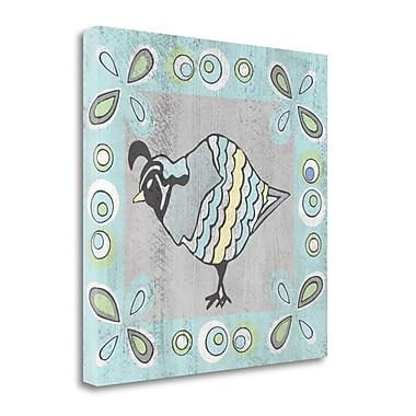 Tangletown Fine Art 'Quail I' Graphic Art Print on Wrapped Canvas; 20'' H x 20'' W