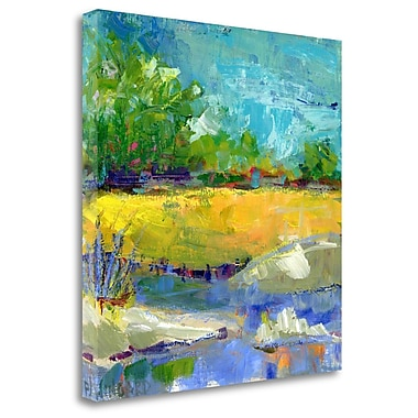 Tangletown Fine Art 'Fall Marsh' Print on Canvas; 30'' H x 30'' W