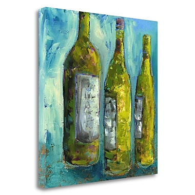 Tangletown Fine Art 'Evening Wine' Print on Canvas; 35'' H x 35'' W
