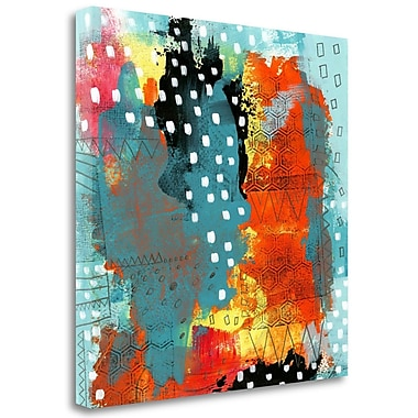 Tangletown Fine Art 'Geometric Abstract I' Print on Wrapped Canvas; 30'' H x 30'' W